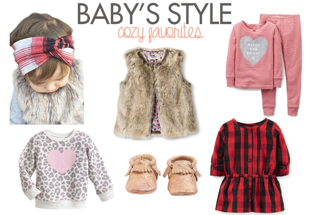 Cozy Winter Fashion for Baby and Toddler Girls